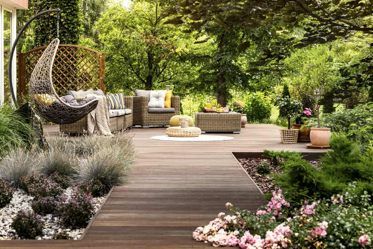 Stunning Patio in your Back Garden